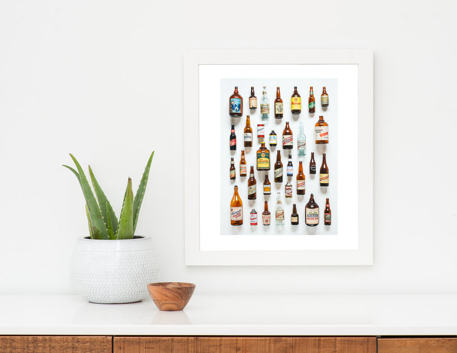 Beer Collector Art Print