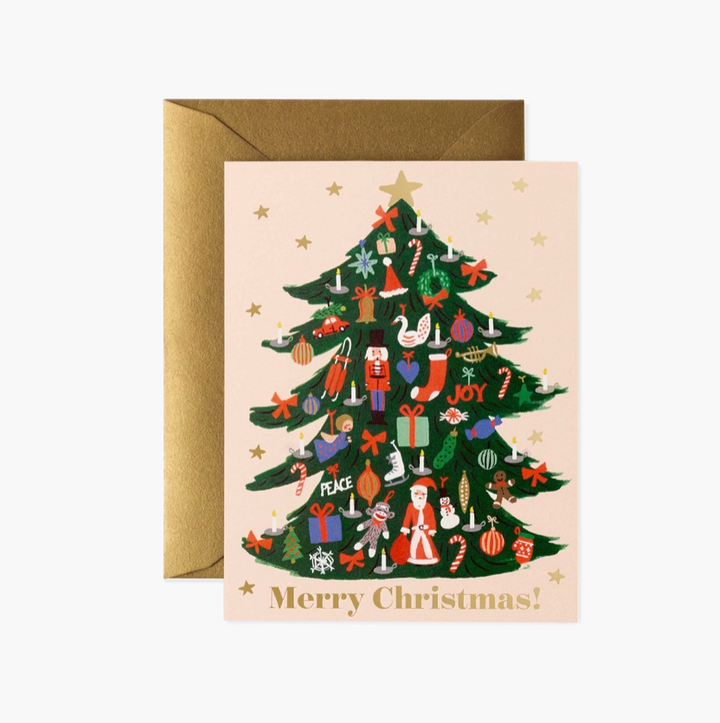 Trimmed Tree Card - RP7