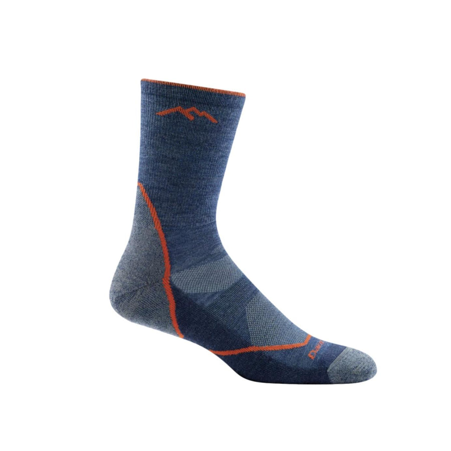 Men's Merino Wool Light Cushion Hiker Micro Crew Sock