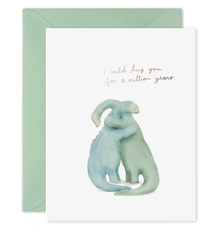 Million Year Dino Hug Card - EF1