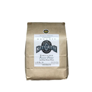 Nitty Gritty Organic Pastry Flour 5 Lb Bag