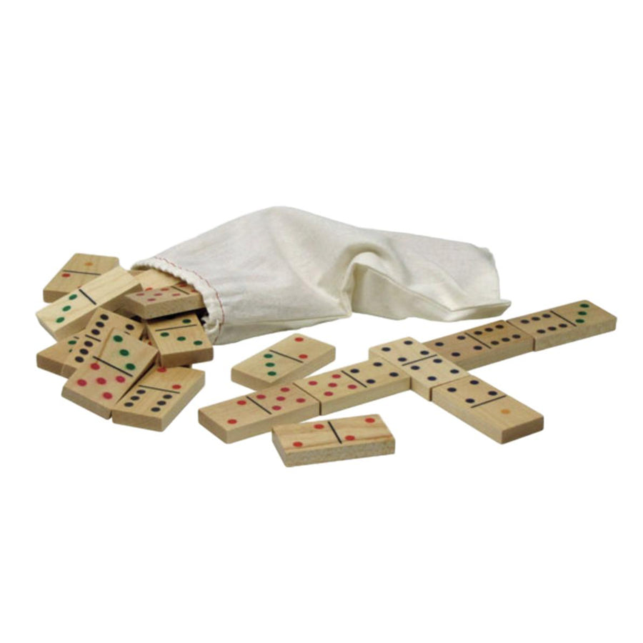 Wooden Standard Dominoes Set