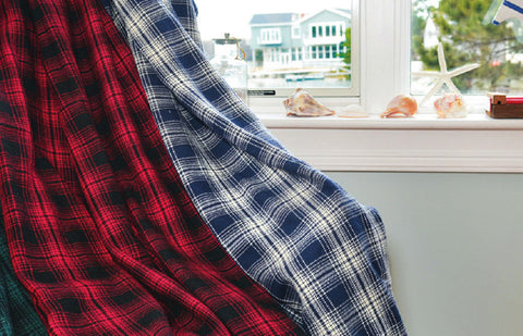 Oakley Plaid Throw