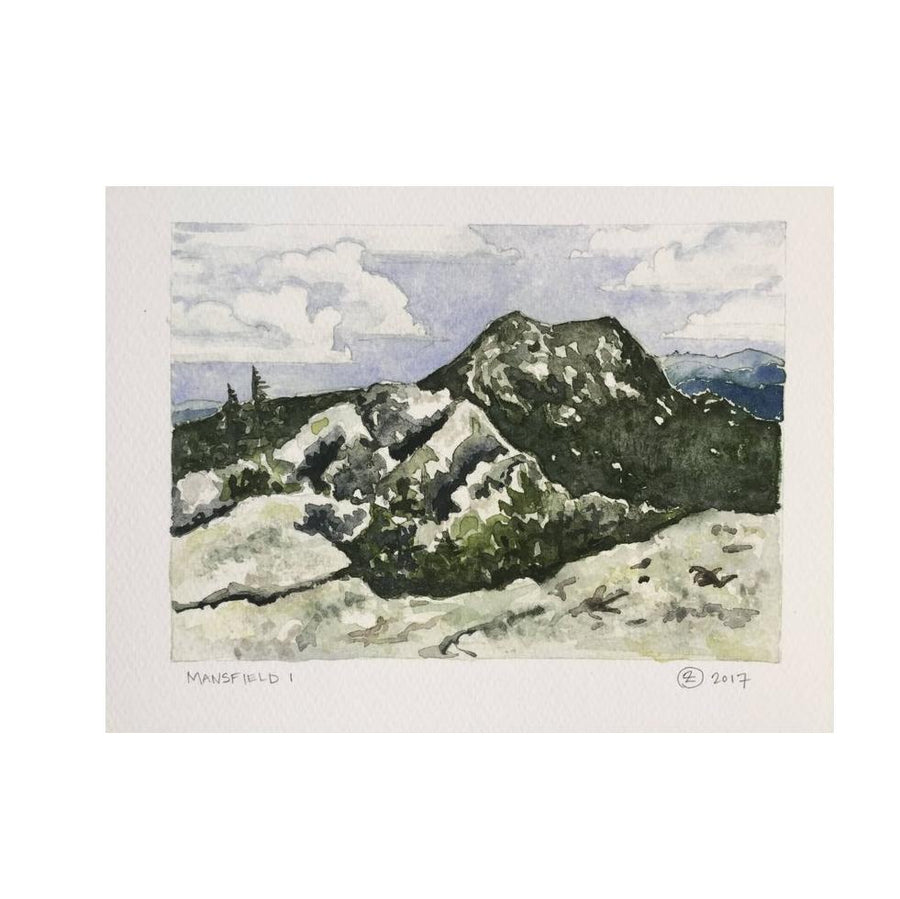 Mansifeld 1 Watercolor Print