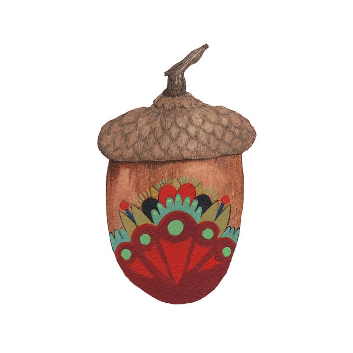 Collector: The Acorn 2 Print - 5x7
