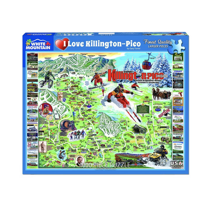 I Love Killington Puzzle - 1000 Pieces