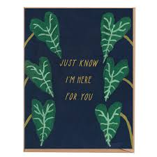 Just know I'm here for you with plants card - FP3