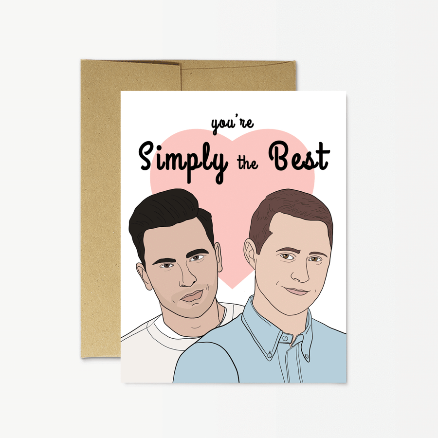 Simply the Best Love Card - PM1