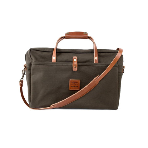 The Courier Briefcase - Olive Drab