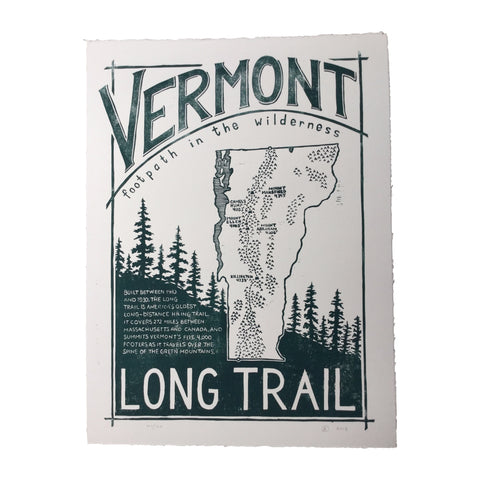 Vermont x Vermont Artists: Duell, Long Trail Footpath