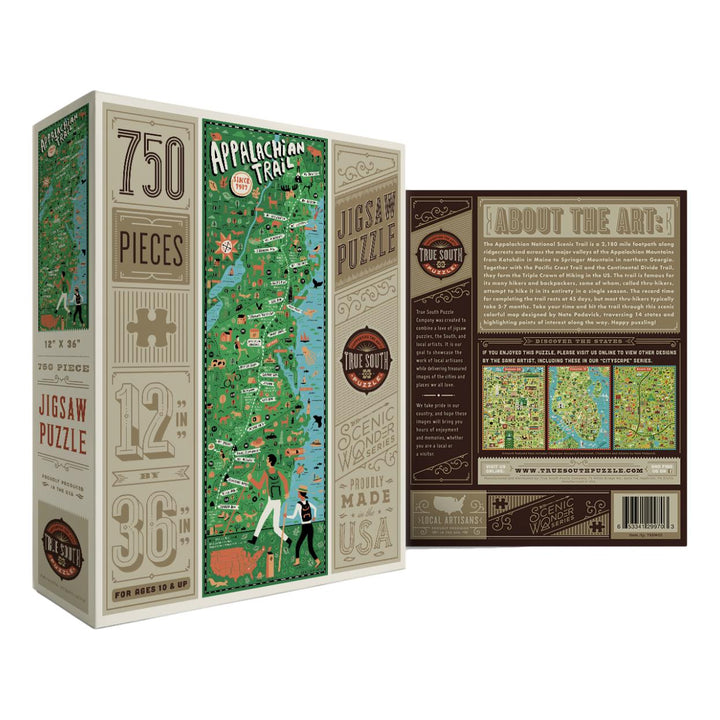 Appalachian Trail Puzzle - 750 Pieces