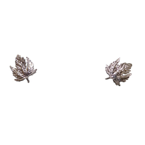Tiny Maple Leaf Earrings