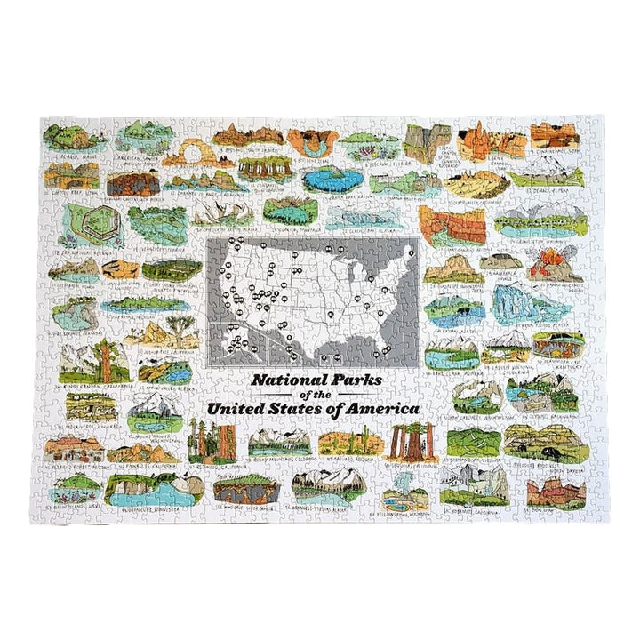 National Parks Jigsaw Puzzle