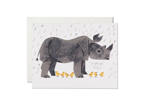 Rhino Thank You Card - RC1