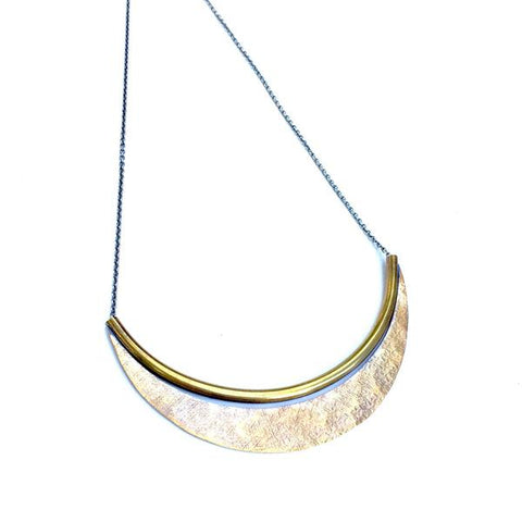 Brass Jebena Necklace