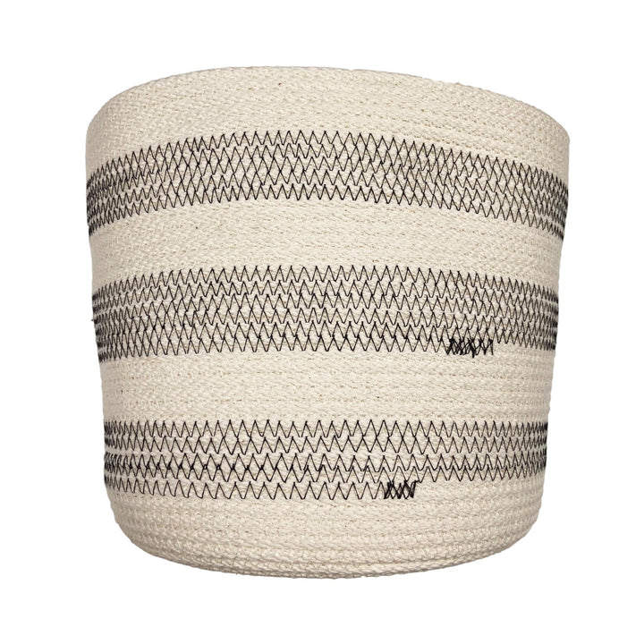 Woven Cotton Rope Bucket