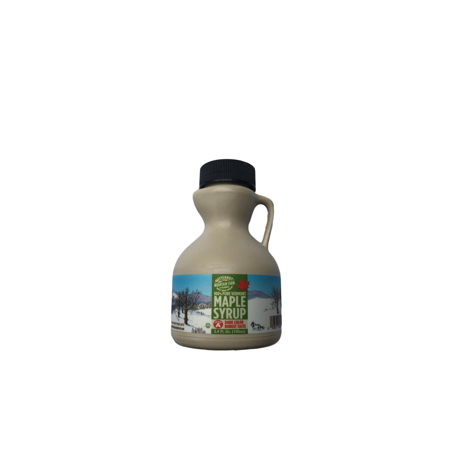Maple Syrup 3.4 oz Mini Plastic Jug