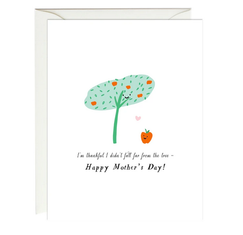 Apple Tree Mother's Day Card - PW7