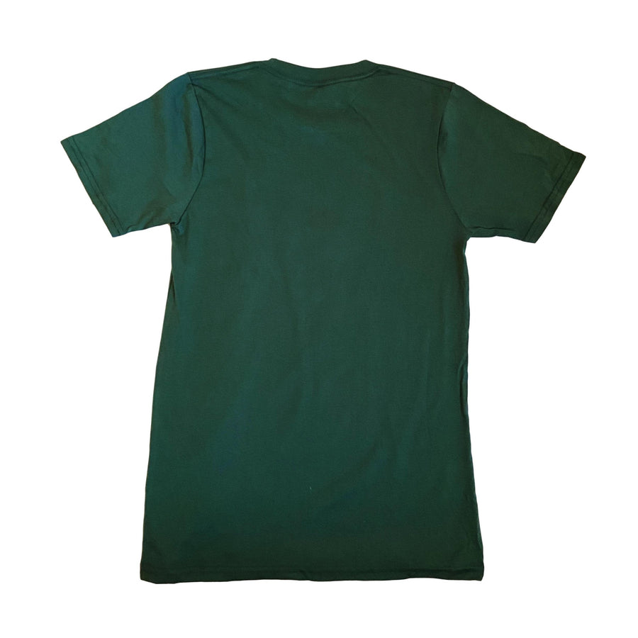 Mountains of Vermont Shirt in Solid Forest Green