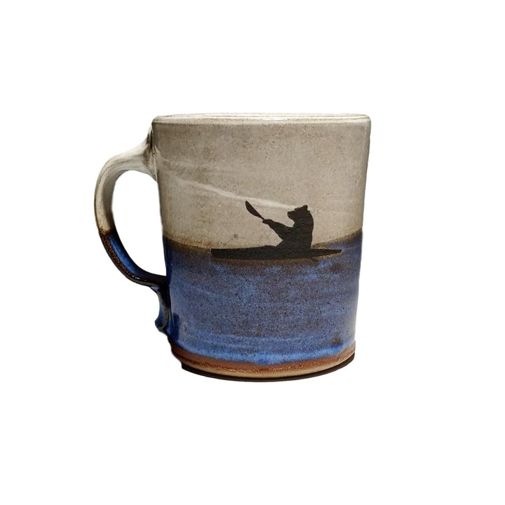 Kayaking Black Bear Mug