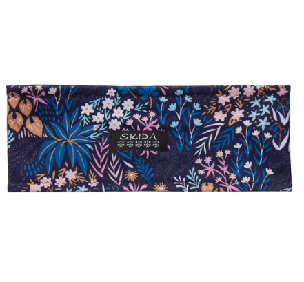 Skida Alpine Fleece-Lined Headband - Alp Floral