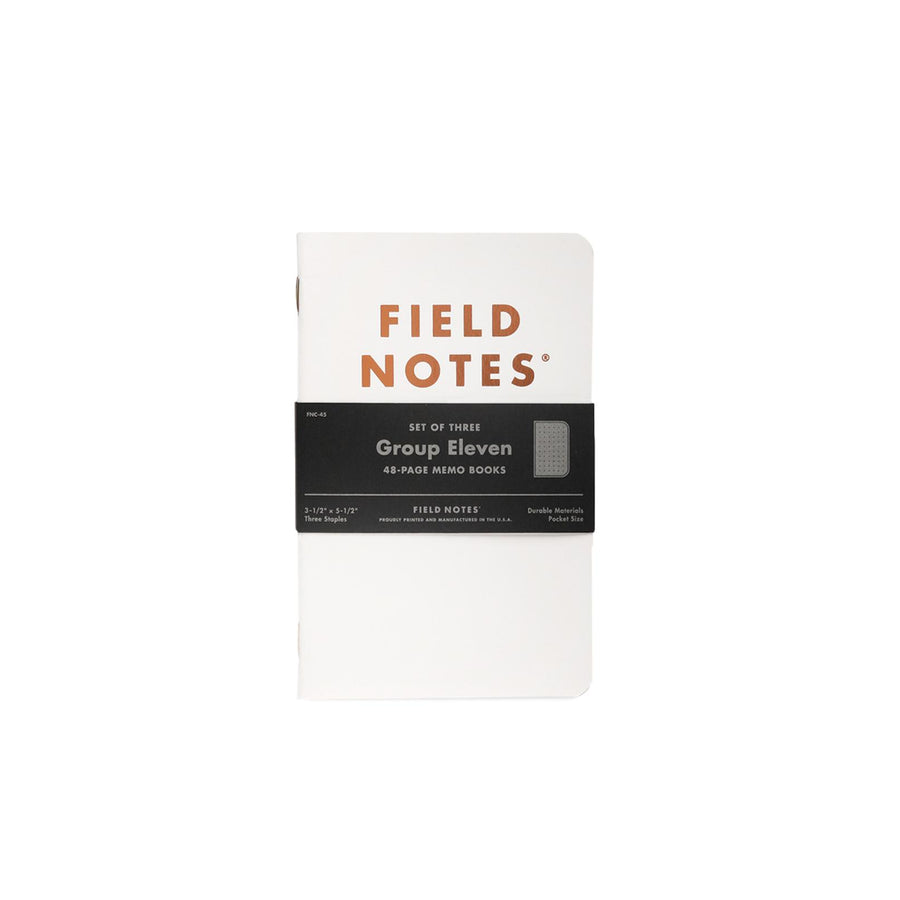 Field Notes Group Eleven - Set of 3 Notebooks