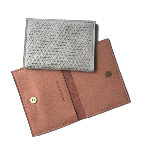 Laset Cut Design Leather Pouch #1 Wallet