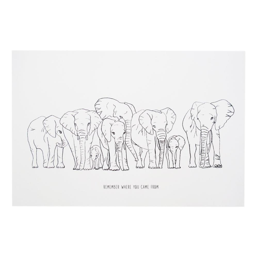Remember Elephant Poster
