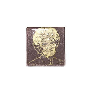 Golden Girls Glass Coaster - Sophia