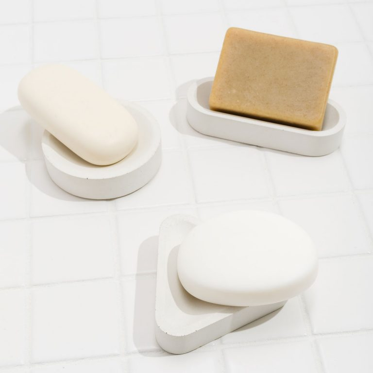 Concrete Shape Soap or Sponge Stand