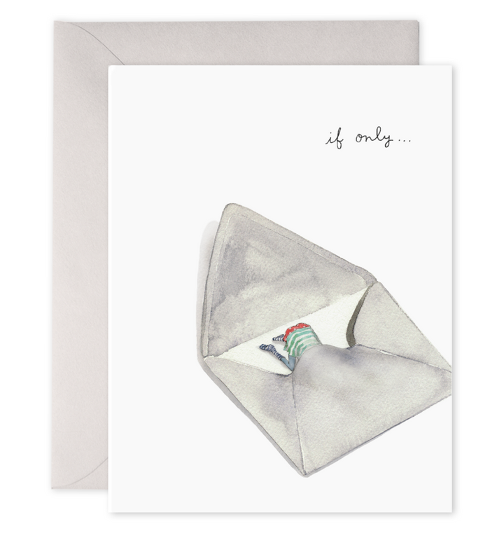 If Only Envelope Trip Miss You Card - EF2