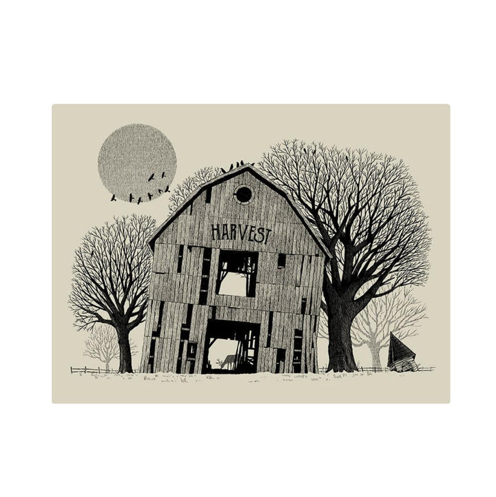 Harvest Barn Screenprint - 18 x 24