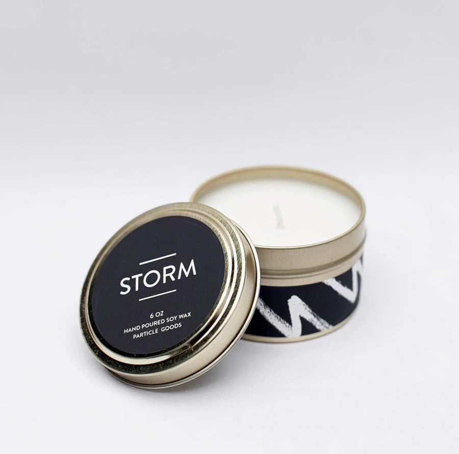 Storm Travel Tin Candle 6oz