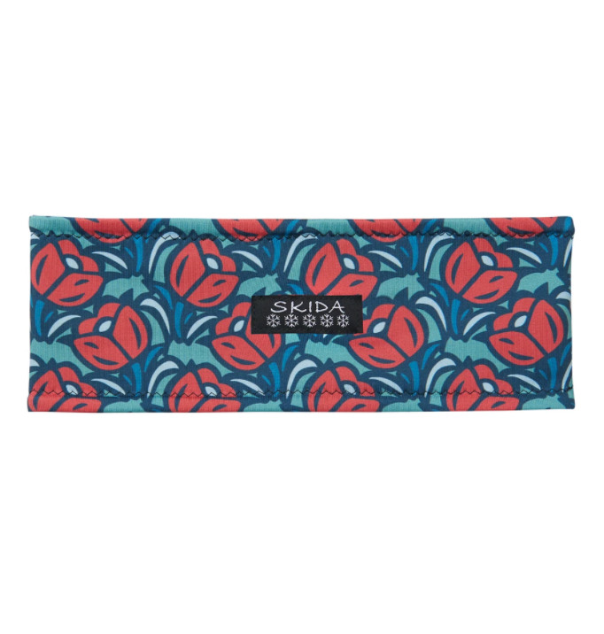 SKIDA Alpine Fleece-Lined Headband - Mint Tulip