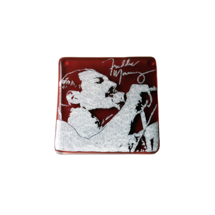 Freddie Mercury Glass Coaster