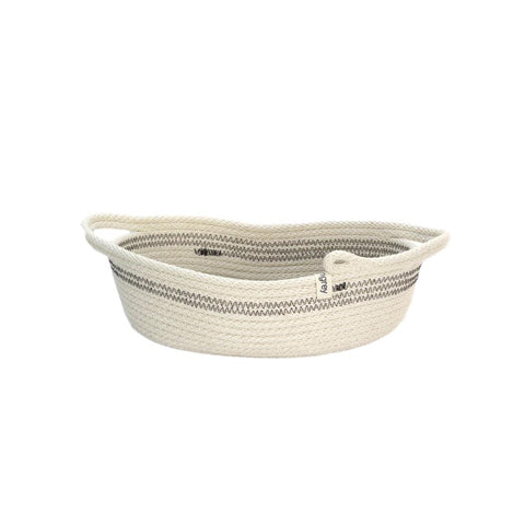 Oval Woven Basket with Handles