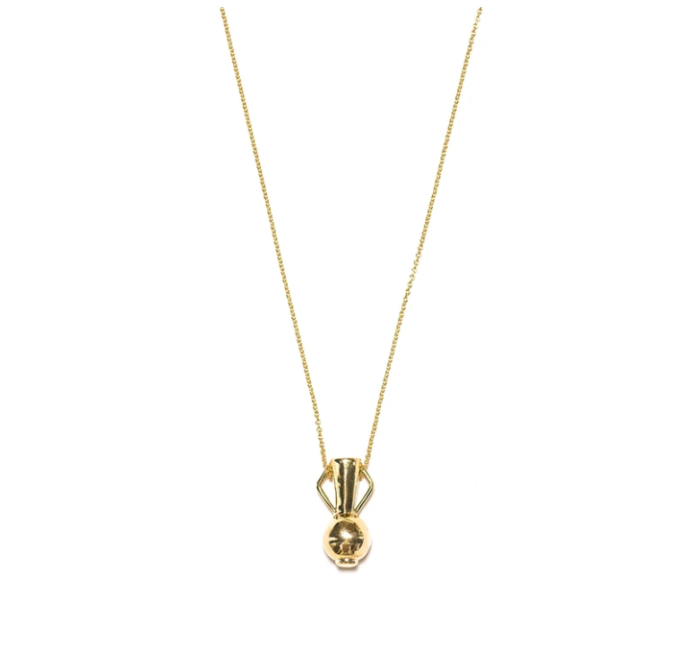 Gold Fountain of Youth Necklace