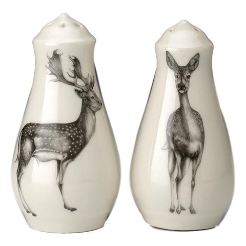 Laura Zindel Deer Salt and Pepper Shakers