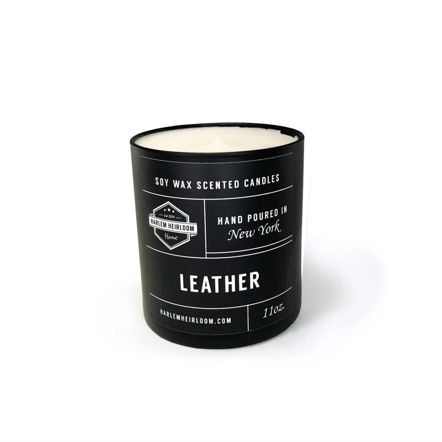 Leather Candle 11oz