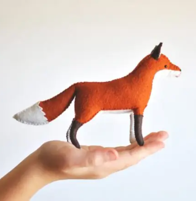 Felt Fox Craft Kit