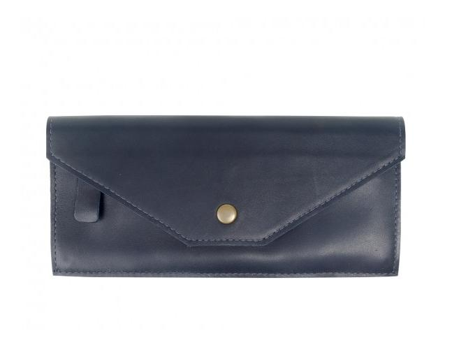 Kelly Brass Snap Wallet