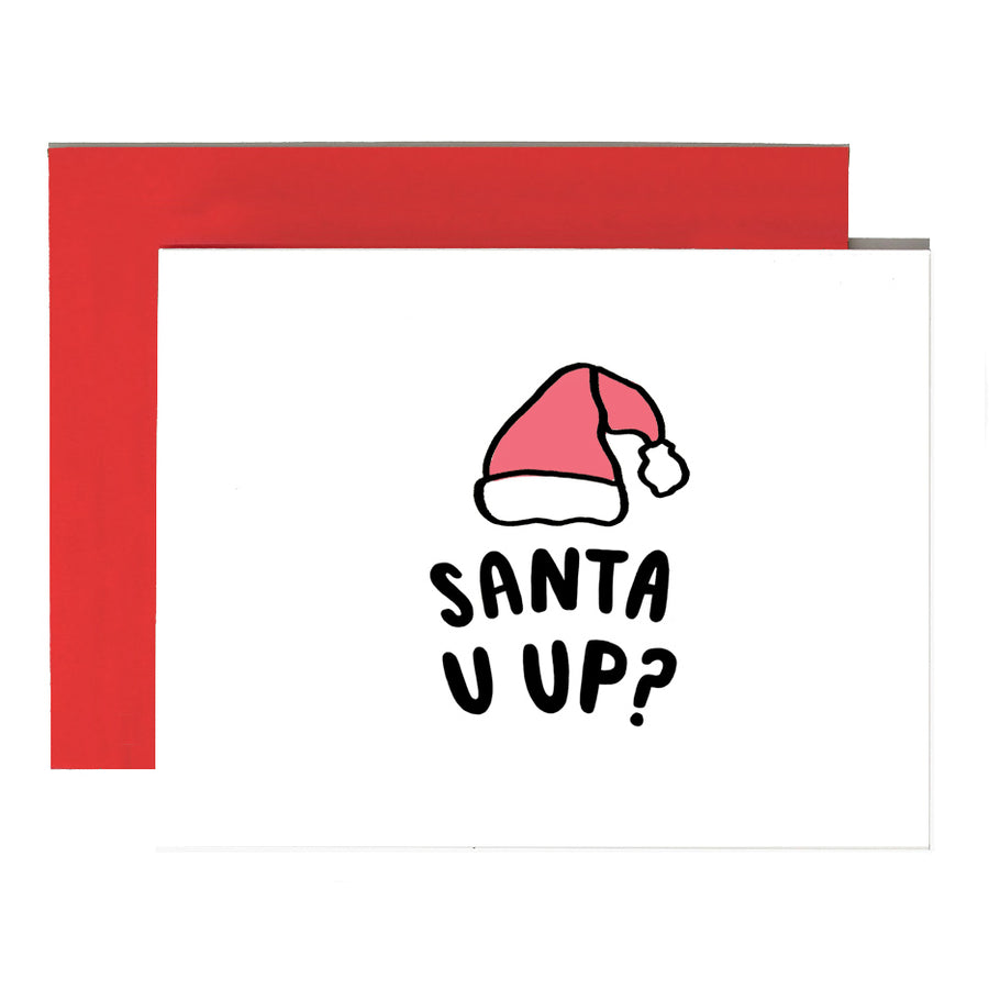 Santa U Up? Card - BP7