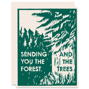 Sending You the Forest and the Trees Card - HP3