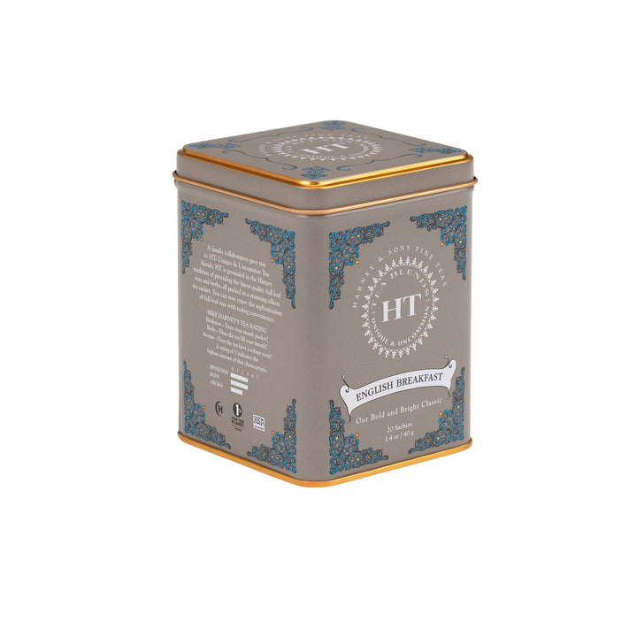 English Breakfast Tea - Tin of 20 Sachets