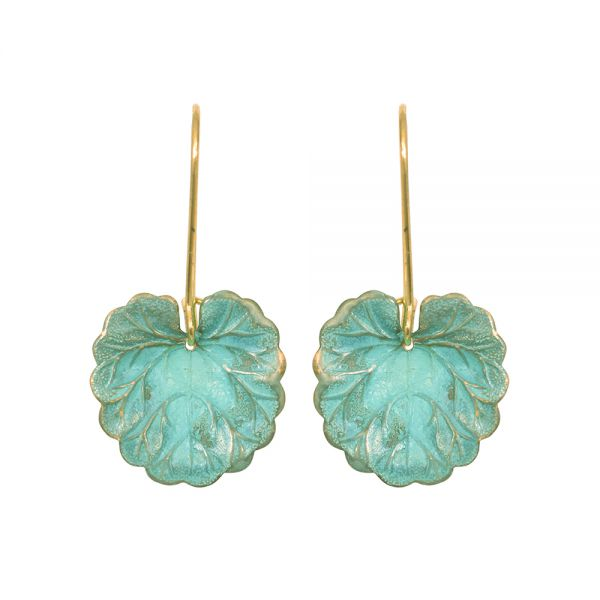 Naiad Lilypad Earrings