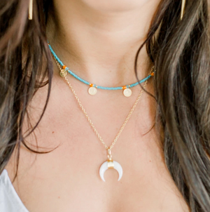Elli Parr Stella Moon Necklace