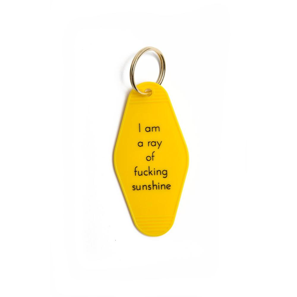Ray of F*$king Sunshine Keytag