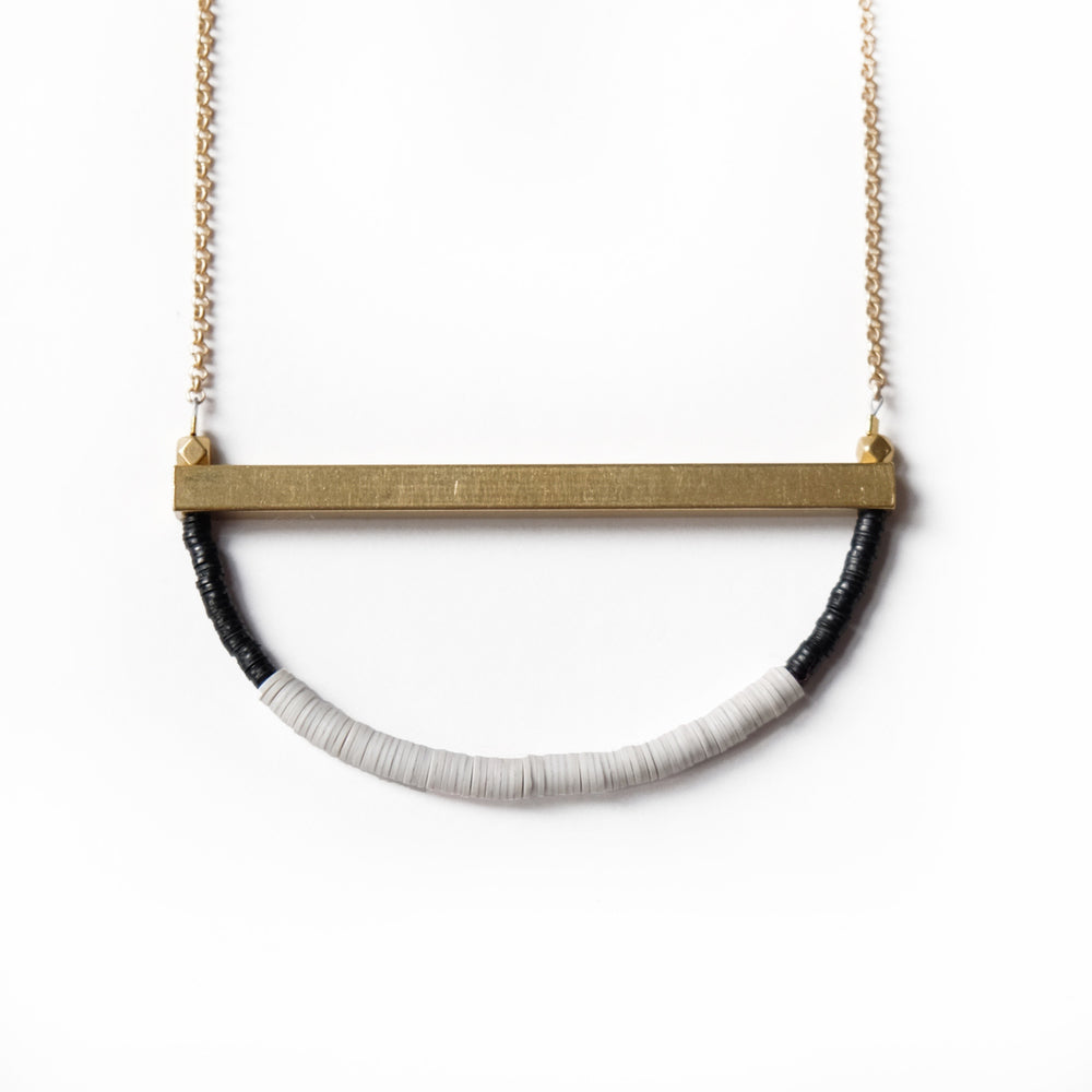 Heishi U Necklace