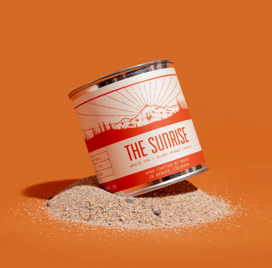 Sunrise Candle - Half Pint
