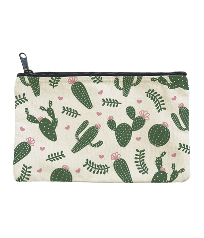 Cacti Zippered Pouch